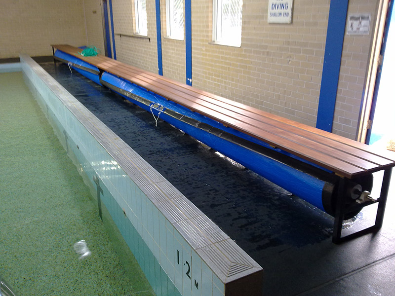 Under Bench Pool Blanket
