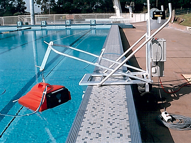 Pool Cleaner Hoist