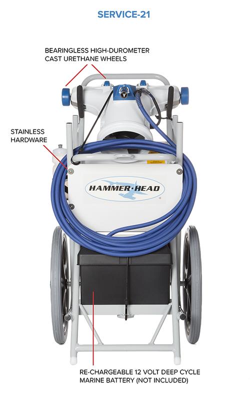 Hammer-Head Pool Cleaners